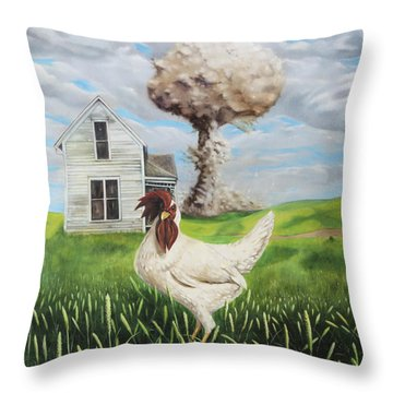 Chicken Little Did You Know Throw Pillow