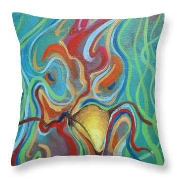 Chiconetti Mask Throw Pillow
