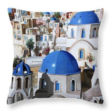 Chiese Ortodosse Throw Pillow