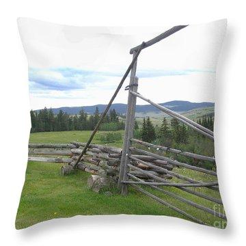 Chilcoltin Way Throw Pillow