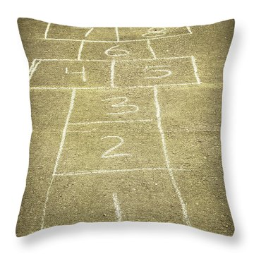 Childhood Games Throw Pillow