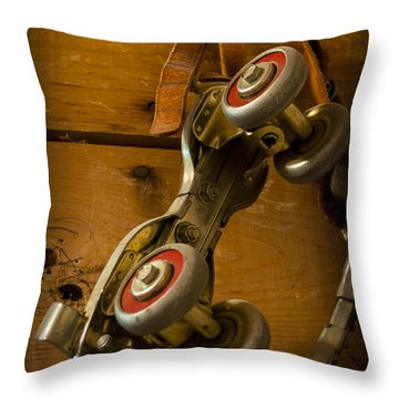 Childhood Moments Throw Pillow