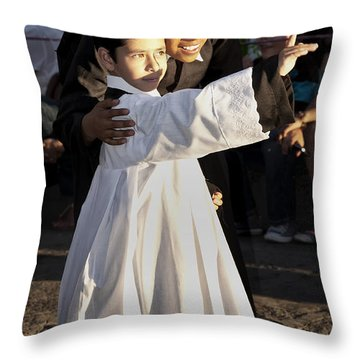 Children Of God Throw Pillow