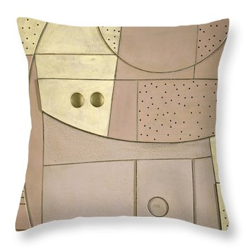 Chilled Purple Haze Throw Pillow by Peter Hugo McClure