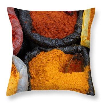 Chilli Powders 2 Throw Pillow