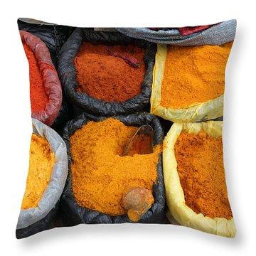 Chilli Powders 3 Throw Pillow