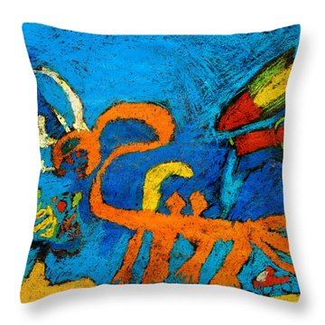 Chimera Throw Pillow