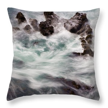 Chimerical Ocean Throw Pillow by Heidi Smith