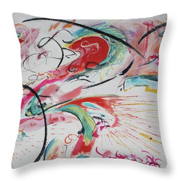Chinatown Throw Pillow by Asha Carolyn Young