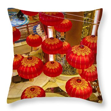 Throw Pillow featuring the photograph Chinese New Year Cruise by Joseph Hollingsworth