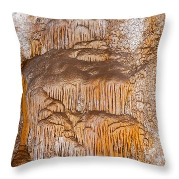 Chinesetheater Carlsbad Caverns National Park Throw Pillow