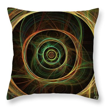 Chirality Throw Pillow by Kim Sy Ok
