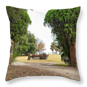 Chisolm Island Gates Throw Pillow