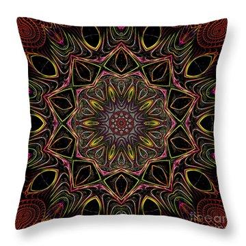 Throw Pillow featuring the digital art Chocolate 3d Art by Hanza Turgul