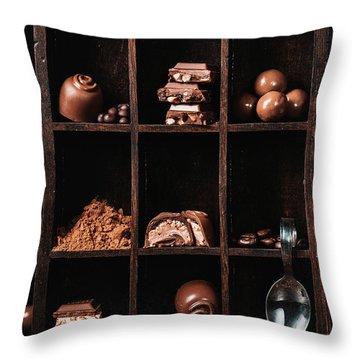 Chocolate Throw Pillows
