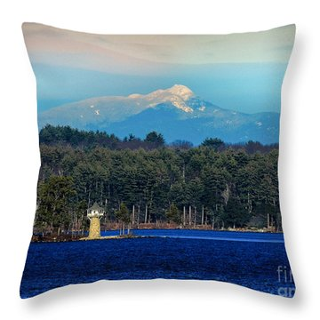 Chocorua And Spindle Point Throw Pillow