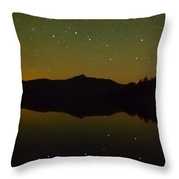 Chocorua Stars Throw Pillow