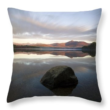 Chocorua Sunrise Throw Pillow