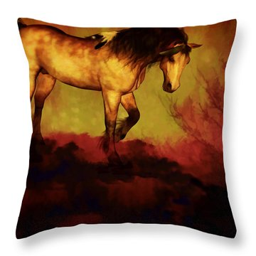 Choctaw Ridge Throw Pillow