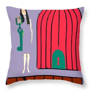 Choice Throw Pillow by Patrick J Murphy
