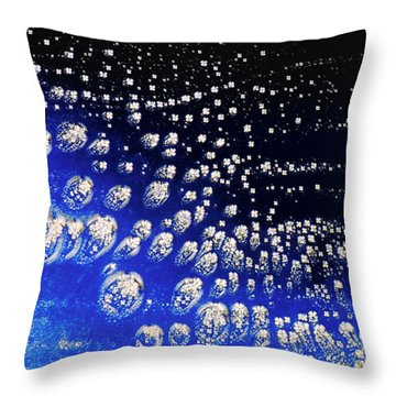 Cholesteric Liquid Crystal Throw Pillow