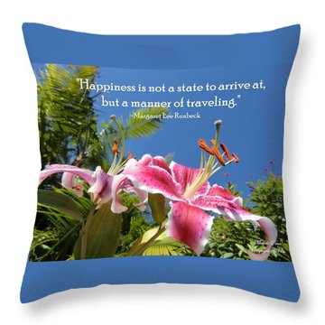 Choose Your Quote Choose Your Picture 16 Throw Pillow