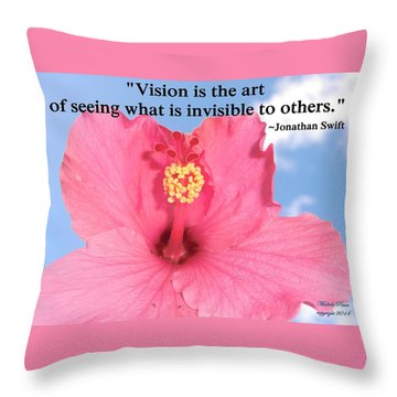Choose Your Quote Choose Your Picture 2 Throw Pillow