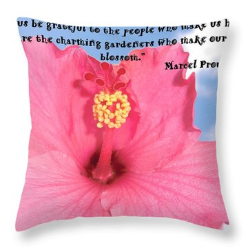 Choose Your Quote Choose Your Picture 4 Throw Pillow