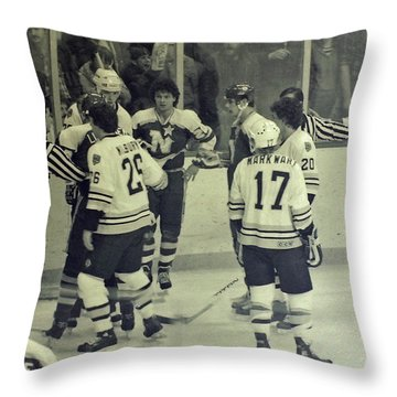 Choosing Partners Throw Pillow