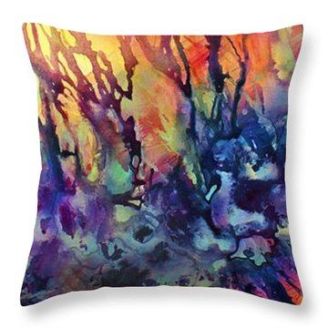 Decorative Pillow Placement : Choosing Position 1 Painting by Michael Lang