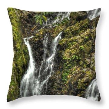 Chorro El Macho Throw Pillow by Bob Hislop