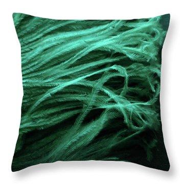 Chorus Lines Throw Pillow by Rebecca Sherman
