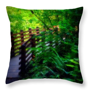 Chosen Path Throw Pillow