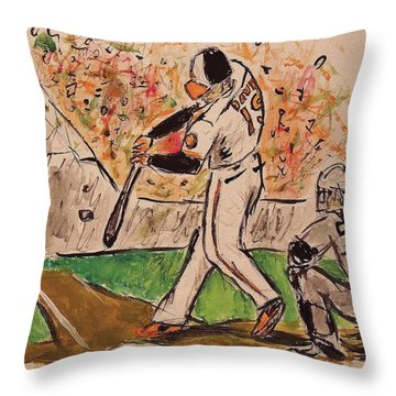 Chris Davis #19 Throw Pillow