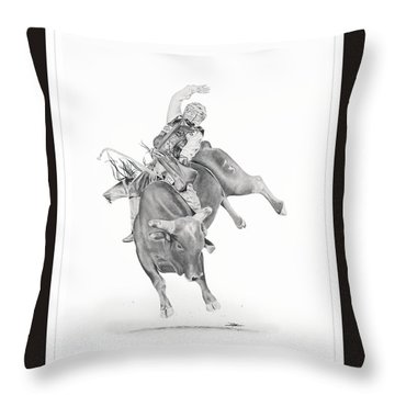 Chris Shivers  Throw Pillow