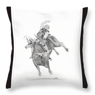 Chris Shivers  Throw Pillow by Don Medina