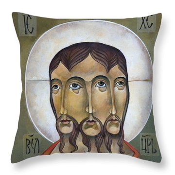 Christ Eternal Throw Pillow