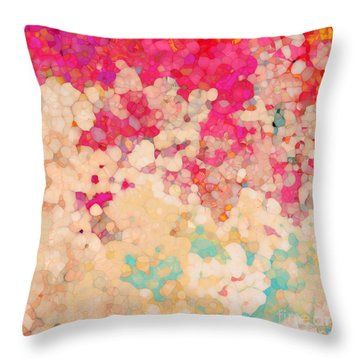 Christian Art- Hebrews 6 19. Hope The Anchor Of Our Souls Throw Pillow