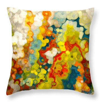 Christian Art- Philippians 1 6. God Completes What He Starts Throw Pillow