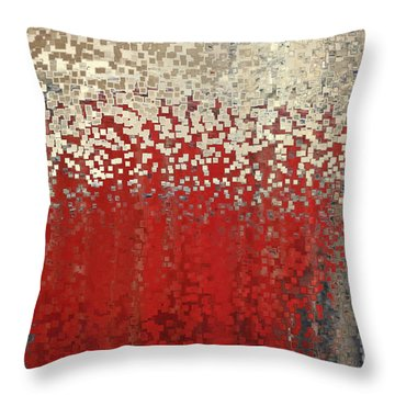Christian Art- You Can't Do It Alone. Zechariah 4 6 Throw Pillow by Mark Lawrence