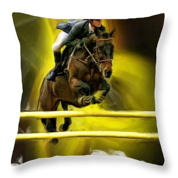 Christian Heineking On River Of Dreams Throw Pillow
