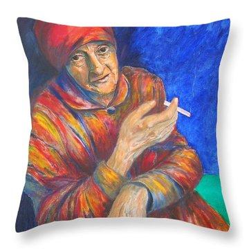 Christine Lavant Throw Pillow