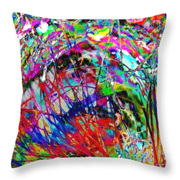 Christmas 2 Throw Pillow by Carol Lynch