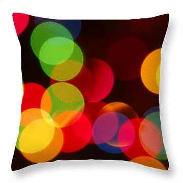 Unfocused Throw Pillow