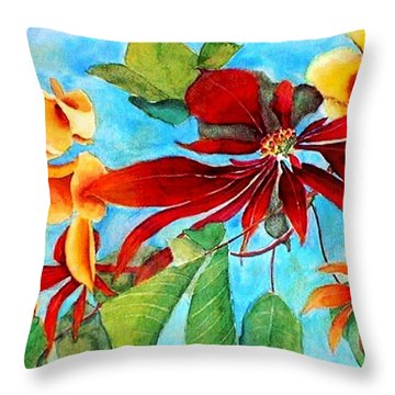 Christmas All Year Long Throw Pillow