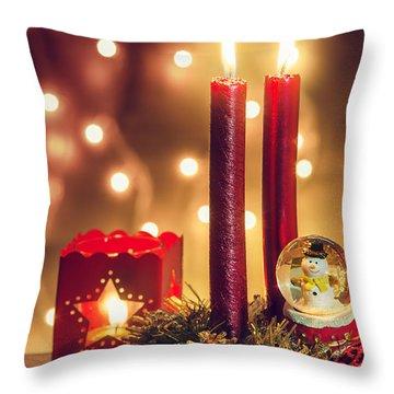 Christmas Ambiance Throw Pillow