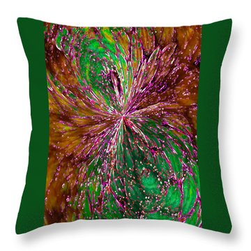 Throw Pillow featuring the digital art Christmas Angel by Paula Ayers