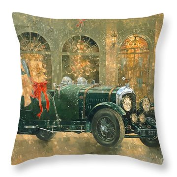 Car-jacking Throw Pillows