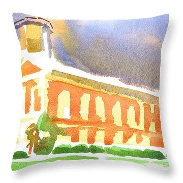 Christmas Bows Throw Pillow by Kip DeVore