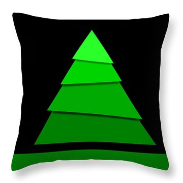 Christmas Card 11 Throw Pillow